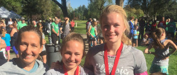 Exchange Student Runs 5k