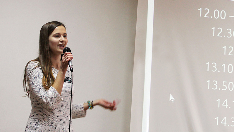 PAX alumnus talks at conference in Ukraine